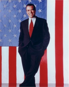 Tom Selleck 8x10 American flag photo