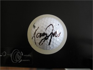 Tony Finau autographed golf ball