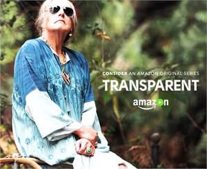 Transparent TV series Amazon 8x10 inch promo or press booklet (Judith Light cover)