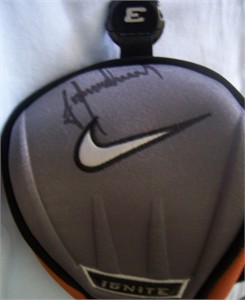 Trevor Immelman autographed Nike golf Ignite 3 wood head cover