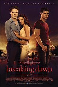 Twilight Breaking Dawn mini movie poster (Bella Edward Jacob)