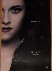 Twilight Breaking Dawn Part 2 2012 Comic-Con Bella mini 11x17 movie poster