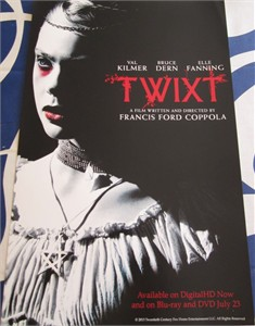Twixt mini 11x17 movie poster (Elle Fanning Val Kilmer)