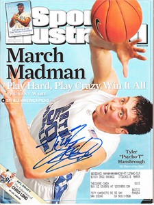 Tyler Hansbrough autographed 2008 North Carolina Sports Illustrated