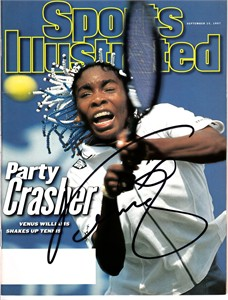 Venus Williams autographed 1997 Sports Illustrated (rare)