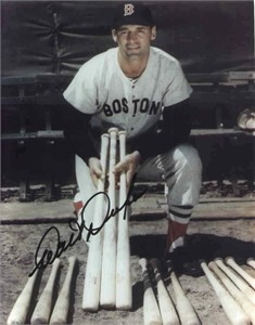 Walt Dropo autographed 8x10 Boston Red Sox photo