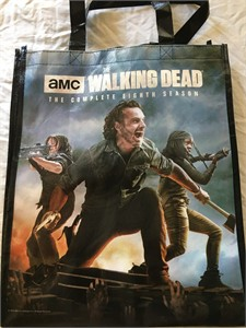 Walking Dead & Ash vs. Evil Dead 2018 San Diego Comic-Con tote bag