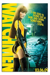 Watchmen mini movie poster (Malin Akerman as Silk Spectre)