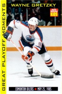 Wayne Gretzky Edmonton Oilers 1998 Sports Illustrated for Kids card