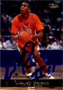 Wesley Person autographed Auburn Tigers 1994 Classic card