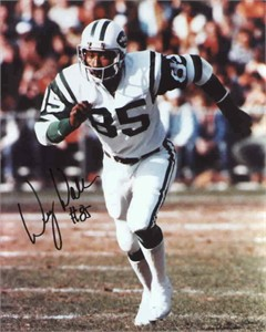Wesley Walker autographed 8x10 New York Jets photo