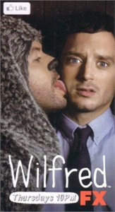 Wilfred 2011 Comic-Con exclusive promo card (Elijah Wood)