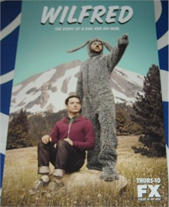Wilfred 2012 Comic-Con mini 11x17 promo poster (Elijah Wood)