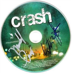 William Fichtner & Michael Pena autographed Crash DVD