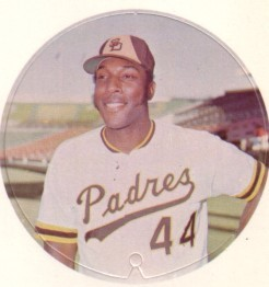 Willie McCovey San Diego Padres 1974 McDonald's Disc MINT