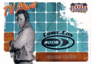 William Shatner 2008 Donruss Americana 2 Comic Con promo card