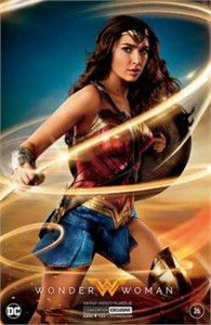 Wonder Woman #26 DC comic book 2017 Comic-Con exclusive Gal Gadot movie photo silver foil cover variant