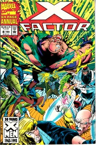 X-Factor 1993 Annual Marvel comic book issue #8