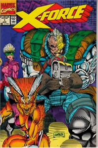 X-Force 1991 Marvel comic book issue #1