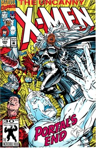 X-Men 1992 Marvel comic book issue #285 (Jim Lee)