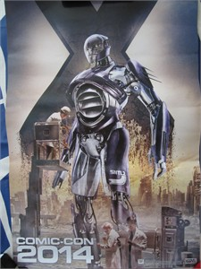 X-Men Days of Future Past 2014 Comic-Con exclusive Marvel mini movie poster